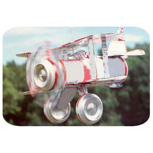 View a Larger Image of Woodworking Project Paper Plan to Build Tin Can Airplane