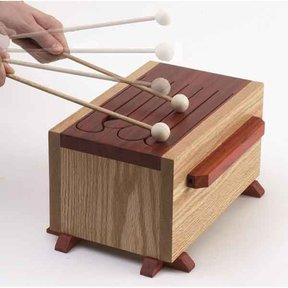 Woodworking Project Paper Plan to Build Tone-of-Fun Tongue Drum