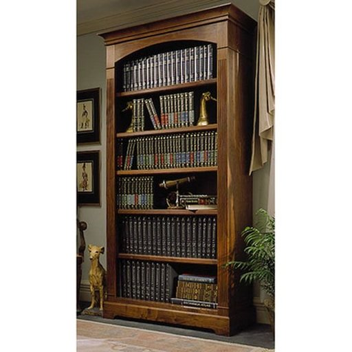 View a Larger Image of Woodworking Project Paper Plan to Build Towering Tomes Bookcase