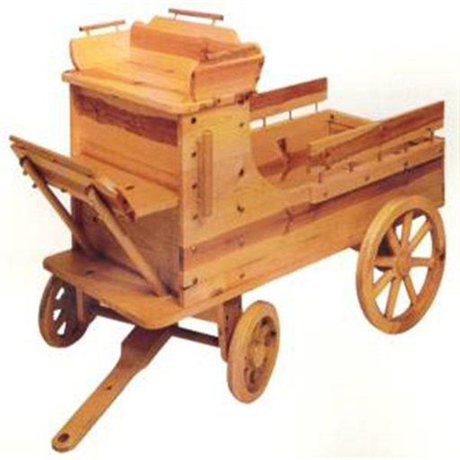 View a Larger Image of Woodworking Project Paper Plan to Build Toy Box Wagon