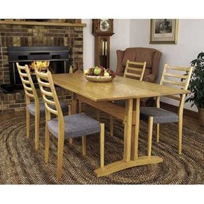 Woodworking Project Paper Plan to Build Trestle Table