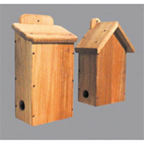 Woodworking Project Paper Plan to Build Two Bird Shelters