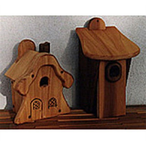 View a Larger Image of Woodworking Project Paper Plan to Build Universal Bird Houses