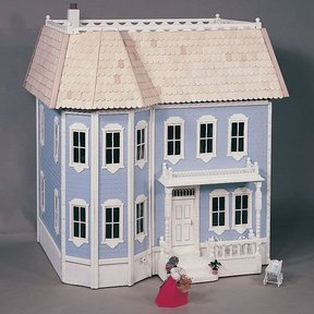 Woodworking Project Paper Plan to Build Victorian Doll House, Plan No. 671