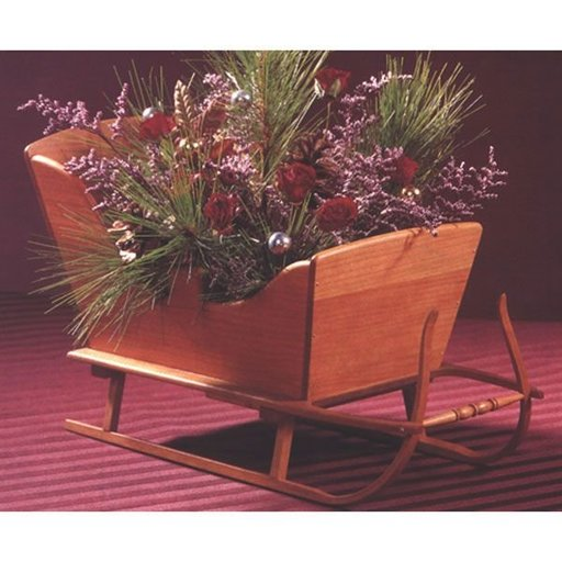 View a Larger Image of Woodworking Project Paper Plan to Build Vintage Tabletop Sleigh