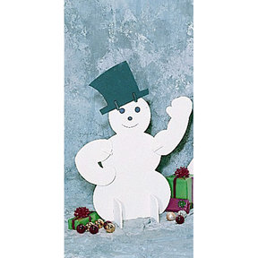 Woodworking Project Paper Plan to Build White Snowman, Plan No. 883