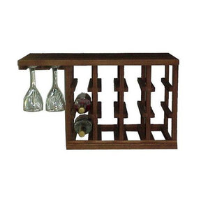 Woodworking Project Paper Plan to Build Wine Glass Rack