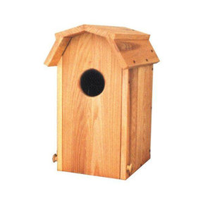 Woodworking Project Paper Plan to Build Wood Duck House with Hip Roof
