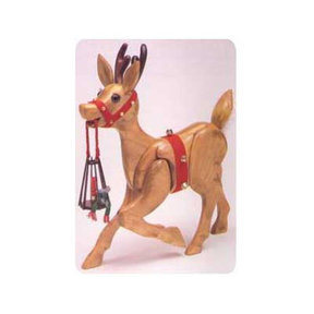 Woodworking Project Paper Plan to Build Woodolph the Reindeer