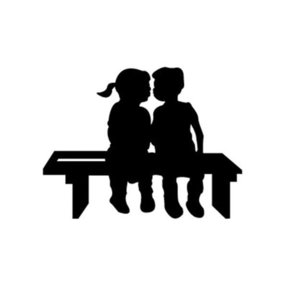 Woodworking Project Paper Plan to Build Young 'uns Kissing Shadow