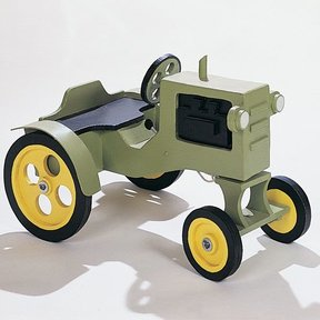 Woodworking Project Plan to Build Tractor, No. 610
