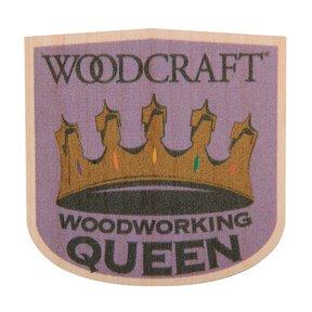 Woodworking Queen Maple Sticker