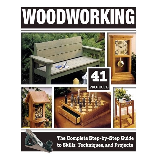 View a Larger Image of Woodworking; The Complete Step-by-Step Guide