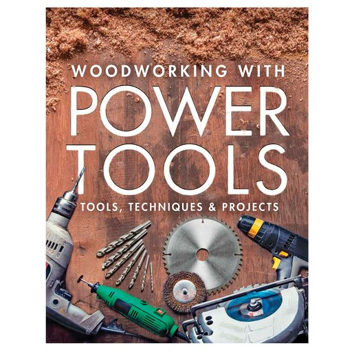 View a Larger Image of Woodworking with Power Tools