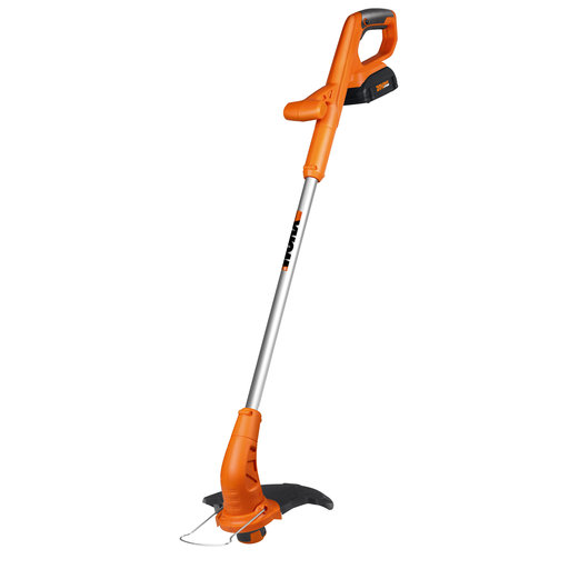 """View a Larger Image of 10"""" 20V Li-ion Cordless Grass Trimmer/Edger with Fixed Shaft, Model WG154"""
