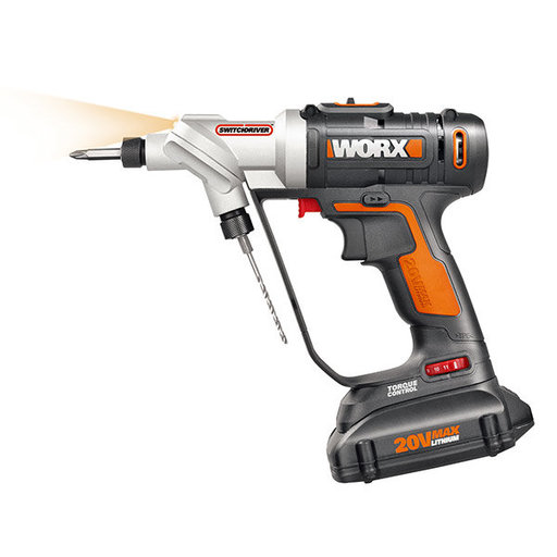 View a Larger Image of 20V Switchdriver 2-in-1 Cordless Drill and Driver