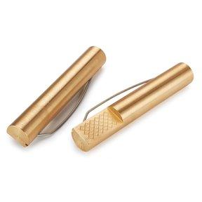 "Brass Bench Dogs 4-3/8"" x 3/4"" pair"
