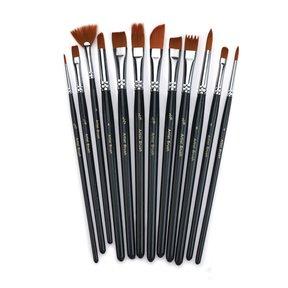 Hobby and Artist Brush Set - 12 pc.