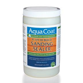 Clear Water Based Sanding Sealer Quart