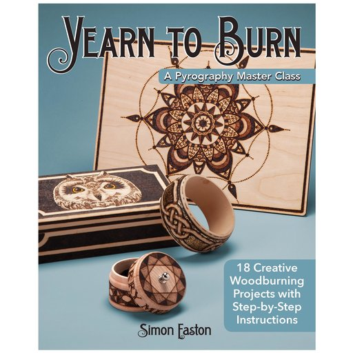 View a Larger Image of Yearn to Burn: A Pyrography Master Class