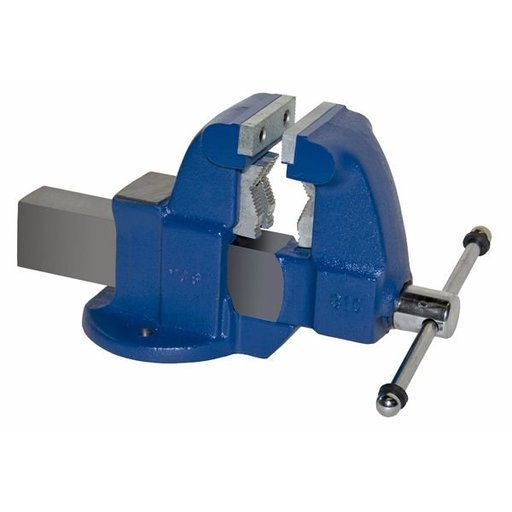 """View a Larger Image of 3-1/2"""" Heavy Duty Combination Pipe and Bench Vise with Stationary Base, Model 131C"""