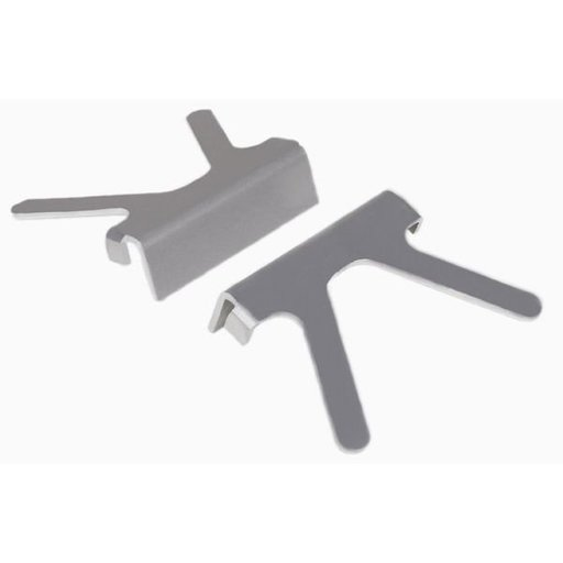"""View a Larger Image of 4-1/2"""" Aluminum Jaw Vise Caps, Model 345"""