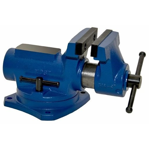 """View a Larger Image of 4"""" Compact Bench Vise with 360 Degree Swivel Base Vise, Model RIA-4"""
