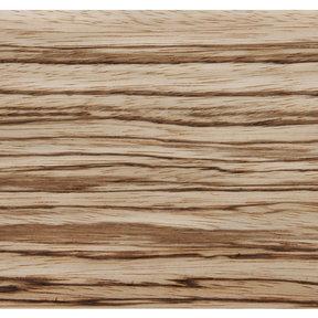 Zebrawood Veneer Sheet Quarter Cut 4' x 8' 2-Ply Wood on Wood