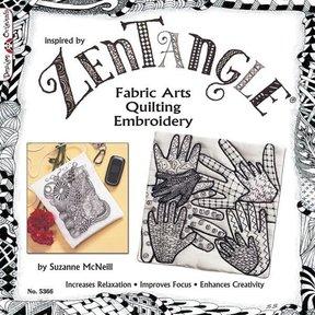 Zentangle Fabric Arts